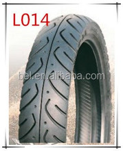Extra wear-resistant motorcycle tubeless tire 100/80-17