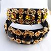 vintage court baroque crystal hair jewelry, bridal headband(SWTJU465)