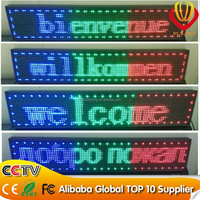 High-definition,High refresh/High gray level P10 programmable LED moving message sign /programmable led window scrolling sign