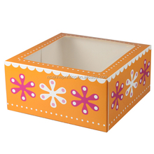Custom Cardboard Birthday Cake Box Wholesale Printing
