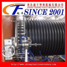 2015 hot product plastic machine HDPE DWG double wall corrugated pipe (krah pipe) making machine