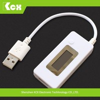 KCX-017 LCD USB Power bank Charger Doctor Discharge Voltage Current Power Meter Tester for mobile phone
