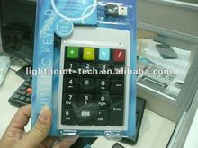 2012 latest Non-Synchronous notebook computers USB numeric keyboard