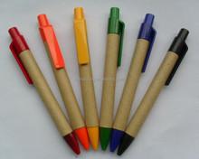 Eco friendly paper barrel stylus ballpen