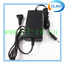 36v 42V 2A AC/DC Adapter E-Bike li ion lifepo4 Battery Charger plastic fast charger for 36V Battery Pack
