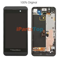 Wholesale OEM Original Genuine LCD Screen With Touch Screen Digitizer and Frame Assembly For Blackberry Z10 3G VERSION