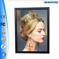 Hot selling backlit snap advertising led pictures light frame