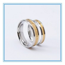 Alta qualidade fashion design hot venda Vintage roma anel de ouro