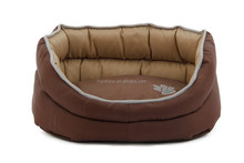 Water-proof Durable Oxford Fabric With PVC backing Pet Bed for Dogs