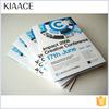 Fashion offset paper book a4 size brochure design