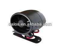 Wired/wireless alarm siren security 12V auto car alarm siren protection security alarm siren