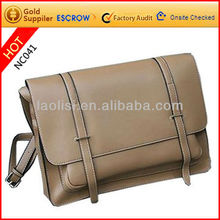 Newest leisure style men's leather PU cross body bags fashion shoulder bags