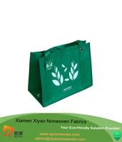 Custom logo printed nonwoven big shopper bag