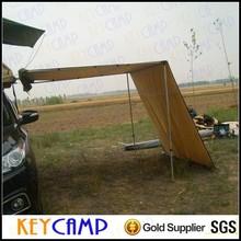 Sports de plein air pliable soleil abri pour off road camper remorque