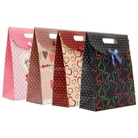 die cut gift decorative paper bag