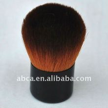 Coastal Scents Black and Hot Brown Angled Kabuki