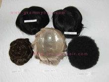human hair topper wig