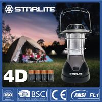 STARLITE ABS 30 hours metal dry cell camping light