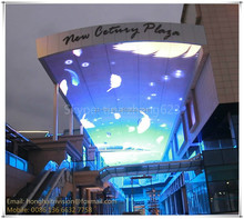 Sky backdrop fly screen curtain/led video wall price