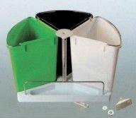 Recycling bin ,plastic waste bin ,assorted wast ebin