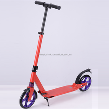 Outdoor Sports Scooter Fun Adults Bicycles Wheels Foldable Aluminum Exercise Foot Stand