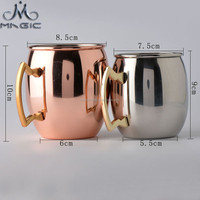 16oz and 18oz moscow mule copper mug barrel for wholesale