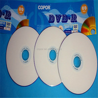 full face printable dvd r 120mins 16x in cake box packing 50