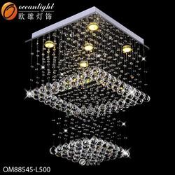 hotel decorative crysatal chandeleir lighting factory OM88545