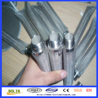 Stainless Steel 16 mesh beer filter tube, Home Brewing Beer Boiling Kettle Mash Tun, Bazooka Kettle Tube Screen
