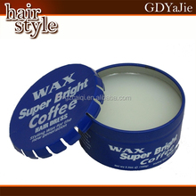 Private label OEM glossy men pomade/water base easy wash firm hold hair styling pomade wax