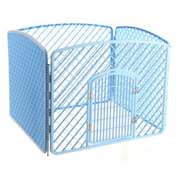 environmentally friendly non-toxic plastic foldable puppy pet kennel