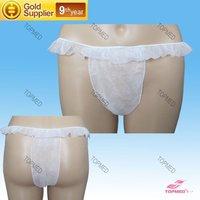 disposable nonwoven spa briefs/underwear/T-back/tanga for women