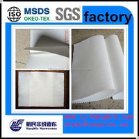 High physical properties nylon and pet material spunlace nonwoven fabric 220gsm plus PVA for ball leather