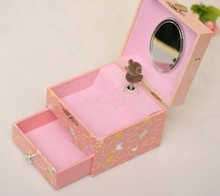 2015 Hot sale handmade Paper music box