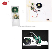 Programmable music module for greeting card