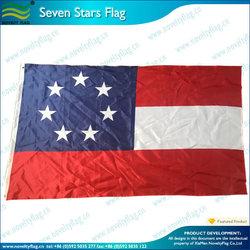 Seven stars Louisiana Battle civil war flag