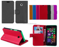 Stand Book Wallet Leather Case Cover Pouch for NOKIA LUMIA 630 Case
