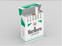 PE Coated colored tobacco case packaging paper