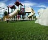 Playground court grass