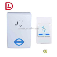 Lower price wireless door bell,wireless doorbell volume button