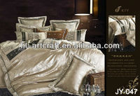 Bed Quilt Cover/Brushed Bedsheet Fabric/Bed Set JY-047
