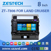 Factory price car radio For TOYOTA LAND CRUISER touch screen 2 din auto car audio radio player