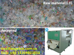 Angelon PET Flakes Color Sorter Selecting Needed Transparent PET Flakes from Raw Material Getting Rid of the Waste