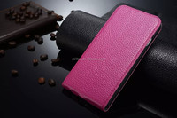 New Magnetic Vertical Flip genuine Leather case for iPhone 6 4.7
