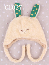 High Quality baby fleece animal hat (CL037)