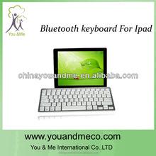 Aluminium shell keyboard Bluetooth for ipad mini