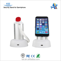 Retail open display security solution,mobile phone anti-theft security display stand A32