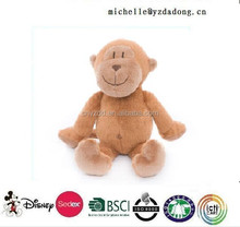 2015 plush stuffed animal cute monkey toy/Hot sales promotion plush talking monkey musical monkey soft stuffed plush toy