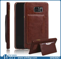2015 New Product PU Leather Flip Stand Card Case for Samsung Galaxy Note 5, for Samsung Note 5 Case