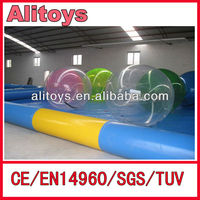 large inflatable water rolling bouncy ball for kid and adult